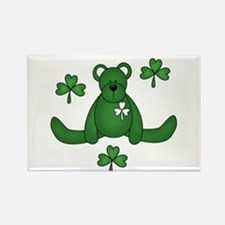 St. Paddy's Day Bear Rectangle Magnet