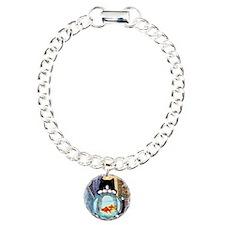 Cat Spying on Fish Bracelet