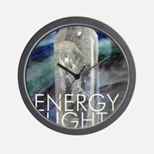 Energy Light Source Wall Clock