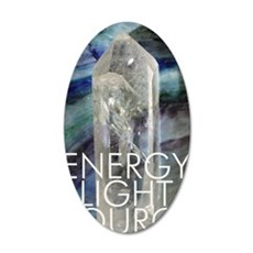 Energy Light Source 35x21 Oval Wall Decal