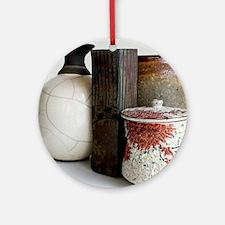 pots_four Round Ornament