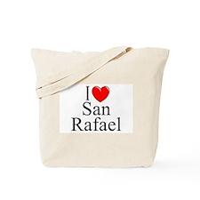 """""""I Love San Rafael"""" Tote Bag"""