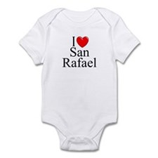"""I Love San Rafael"" Infant Bodysuit"
