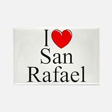 """I Love San Rafael"" Rectangle Magnet"