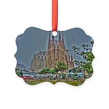 Barcelona Ornament