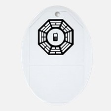 dharmaphonecasew Oval Ornament