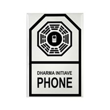 dharmaphonecase Rectangle Magnet