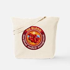 No Blood Circle Tote Bag
