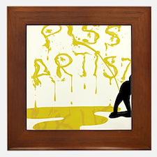 Piss Artist Framed Tile