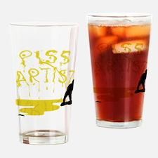 Piss Artist Drinking Glass