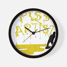 Piss Artist Wall Clock
