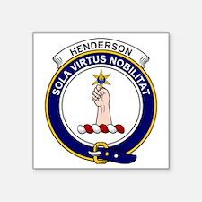 """Henderson (MacKendrick) Cla Square Sticker 3"""" x 3"""""""