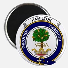 Hamilton Clan Badge Magnet