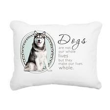wholelives3 Rectangular Canvas Pillow