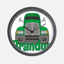 brandon-b-trucker Wall Clock