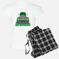 brandon-b-trucker pajamas