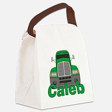 caleb-b-trucker Canvas Lunch Bag