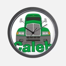 caleb-b-trucker Wall Clock