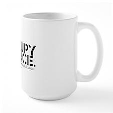 Occupy Peace Tumblr Blog Logo Mug