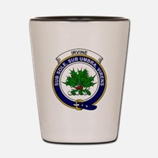 Irvine Clan Badge Shot Glass