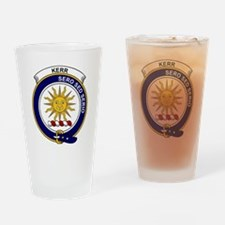 Kerr Clan Badge Drinking Glass