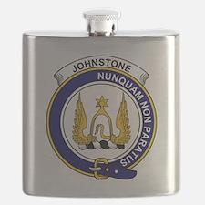 Johnstone Clan Badge Flask