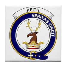 Keith Clan Badge Tile Coaster