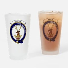 Keith Clan Badge Drinking Glass