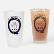 Kennedy Clan Badge Drinking Glass