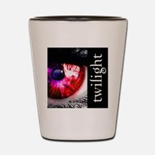 eye for twilight by twibaby best twilig Shot Glass