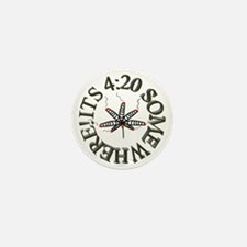 Its 420 somewhere! Mini Button