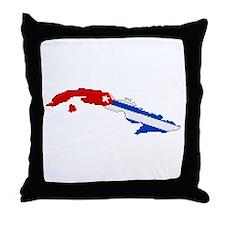 """""""Pixel Cuba"""" Throw Pillow"""