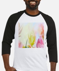 abstract flowers Baseball Jersey