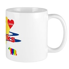 Bear Loves Twinks Mug