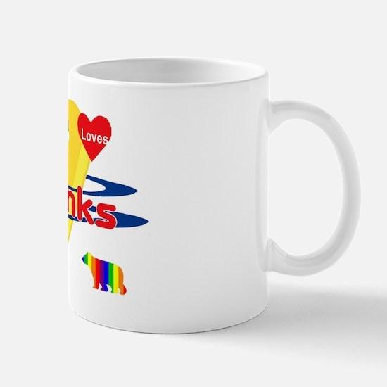 Bear Loves Twinks Mug