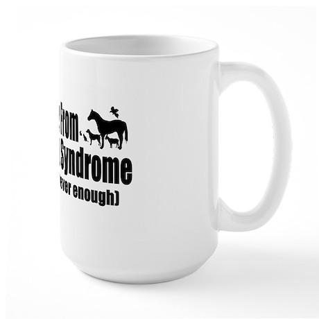 Multiple Pet Syndrome Large Mug