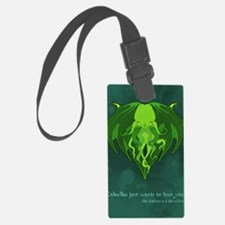 Cthulhu_vday_FRONT Luggage Tag