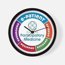 e-Patient SPM Circle Wall Clock
