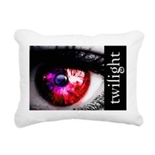 twilight eye for laptop  Rectangular Canvas Pillow