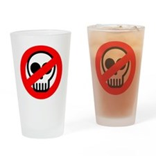 ghostbuster_logo_pocket Drinking Glass