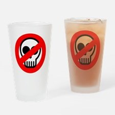 ghostbuster_logo_pocket Drinking Glass