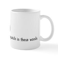 WOODS black Mug