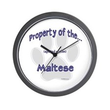Maltese Property Wall Clock