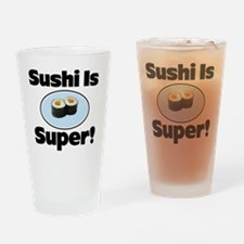Sushi iphone Drinking Glass