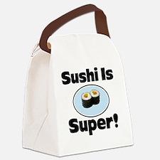 Sushi coin purse Canvas Lunch Bag