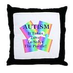Autism #5 Throw Pillow