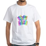 Autism #5 White T-Shirt