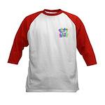 Autism #5 Kids Baseball Jersey