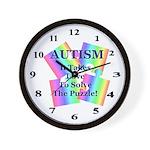 Autism #5 Wall Clock