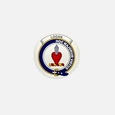 Logan Clan Badge Mini Button